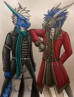 Just one of those guy's talks~ by KarneTia