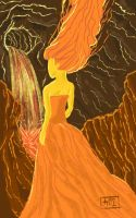 Flame Princess - Galaxy Note Sketch by SirScm