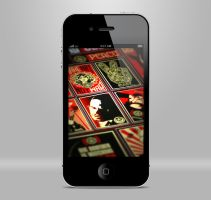 iphone 4 psd by mgportfolio