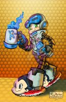 Mighty No 9 by mannycartoon