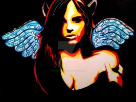 My Angel/Demon by ASanchezDesigns