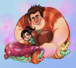 Wreck it Ralph - SUGAR RUSH by curry23