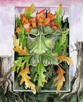 Not-So-Green Man by Degare