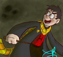 Request for thefrozeniceman: Harry Potter by Weevmo