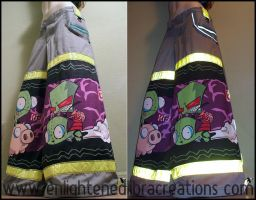 Invader ZIM Raver Phat Pants 3 by RedheadThePirate