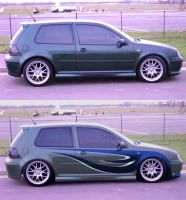 gray GTI by fastworks