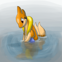 Floatzel by Icevia