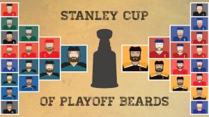 Stanley Cup of Playoff Beards by madeofglass13