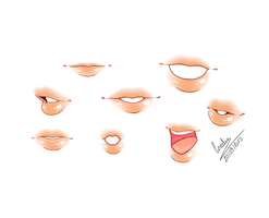 Lips by Celestaah