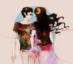 sollux and aradia by rondeau