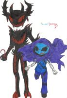 Zalgo And Shadow Lurker by SweetRevenge09