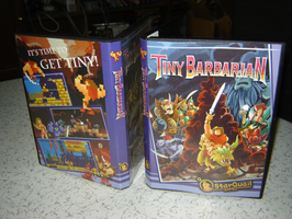 Tiny Barbarian Prototype Box by gsilverfish