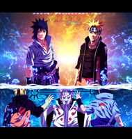 Naruto 671 - The chosen ones - Coloring by DEOHVI