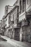 Alleyways Of Old Baghdad by Dr-Evil2011