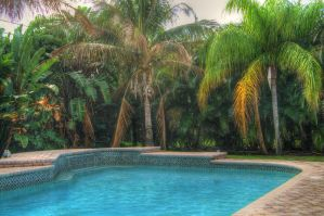 Back Yard HDR by Soulkreig
