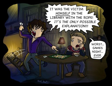 Sherlock: The Rules Are Wrong by blackbirdrose