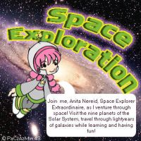 Space exploration cd cover by azmosis