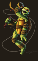 Michelangelo by Tchukart