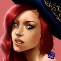 Miss Fortune Portrait by Darkjet9