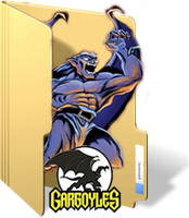 Gargoyles Folder Icon by GreedLin