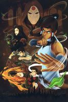 The Legend of Korra : Book One Tribute by yurixmeister