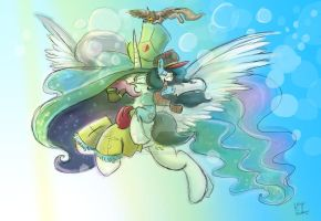 Princess Exposition And Maddy by Mad--Munchkin