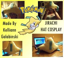 Jirachi Cosplay Hat by CupcakeCrafty