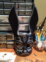 Leather bioshock splicer mask by Skinz-N-Hydez