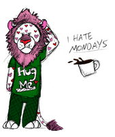 Oh Mondays... by Mezia