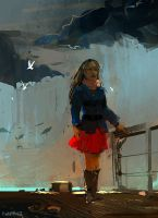 red skirt 2 by Pierrick