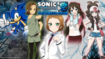 Design Commission :: Wallpaper Sonic Fangame :: by FubukiFrost01