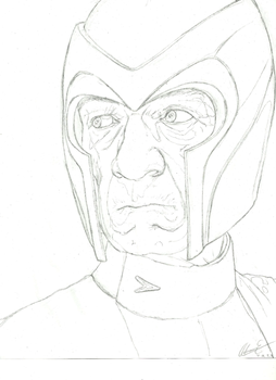 Sketch: Magneto by EiDrianDM