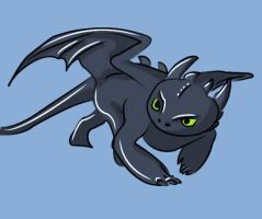 Toothless by pit-us