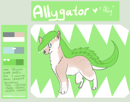 allygator + contest entry by zepIyn