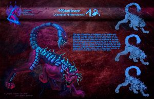 Manticore Orthographic Study by MasterpieceLost