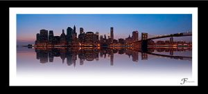 Manhattan reflection by touccy