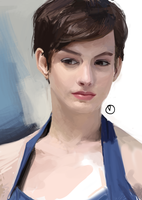 photostudy: Blue by YoungerChild