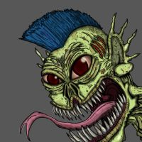Monster Punk by djneckspasm