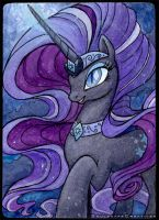 Nightmare Rarity by SoulscapeCreatives