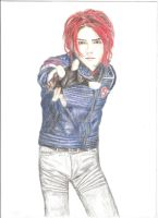 Gerard Way by desertghoul