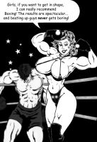Boxing Babe Jessy - From Jessy With Love by Davros77