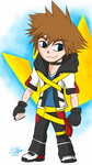Sora - Wind Waker style (Nintendo Outfit) by createandshow0407