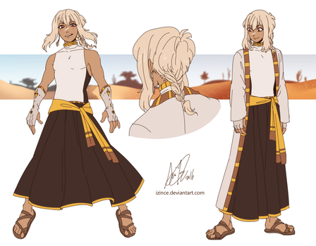 EE: Zayn's Desert Outfit by iZince