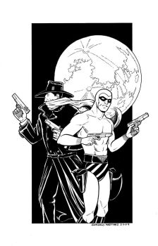 Pulp Heroes by gmartinez