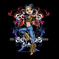 Lil Hippie Chix TShirt Idea by lilzart
