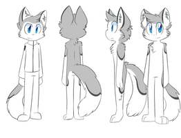 Silver Wolf's Howl Ref 2014 by SmilehKitteh