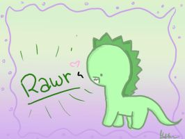 Rawr it's a Dinosaur by Kiwikoala1