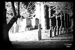 Grave Yard by CharliePhotos