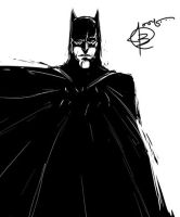 Batman Sketch by Ithilean