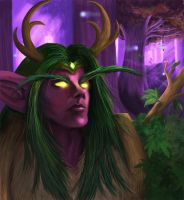 Night Elf Druid by NotBySight1109